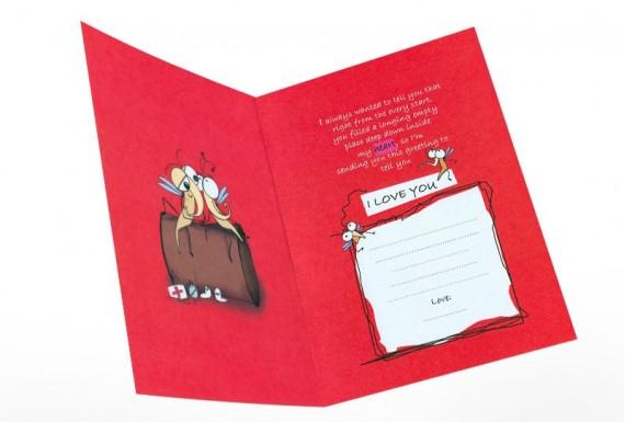 کارت تبریک I Love You