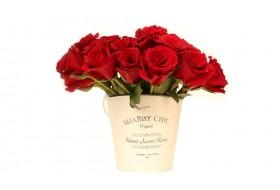 Shabby chic Rose Buckets