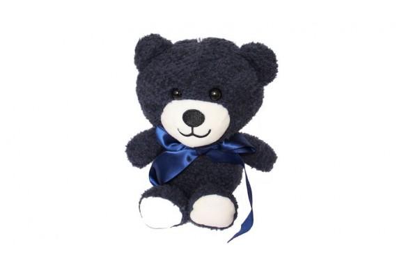 عروسک خرس A.M.J  سرمه ای
