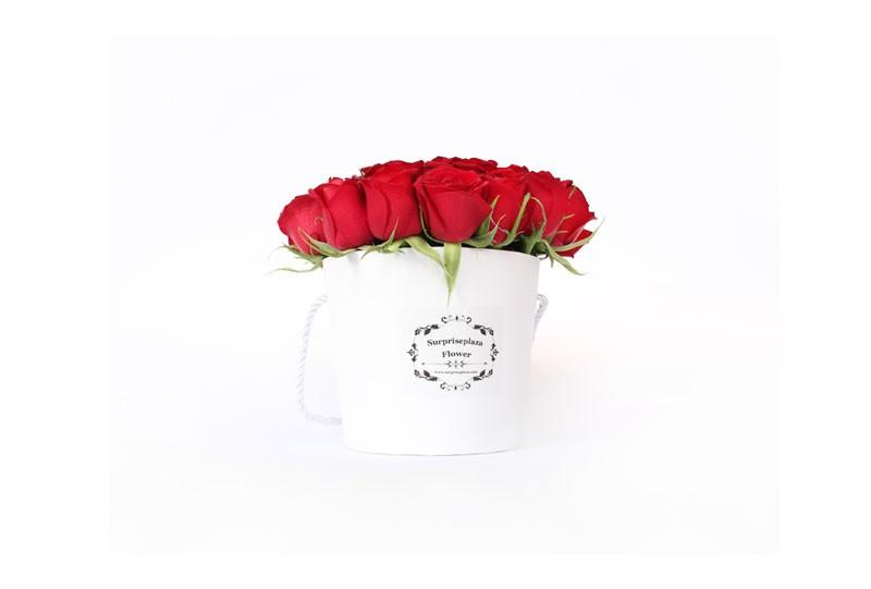 Surpriseplaza rose buckets white mightylinksfo