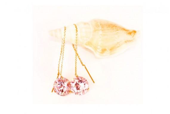گوشواره ژوپینگ مدل Diamond