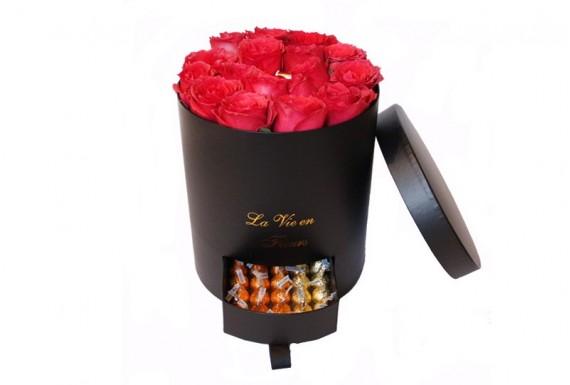 metal cone flower bucket