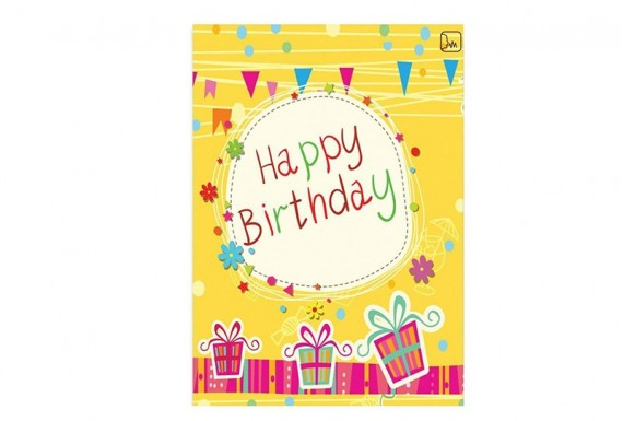 Happy Birthday Voice Recording Greeting Card