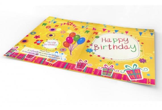 کارت تبریک تولد با قابلیت ضبط صدا