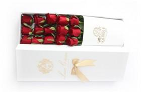 باکس گل سفید Golden Rose