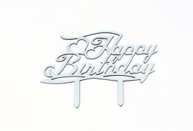 Happy Birthday Cake Topper Model 2