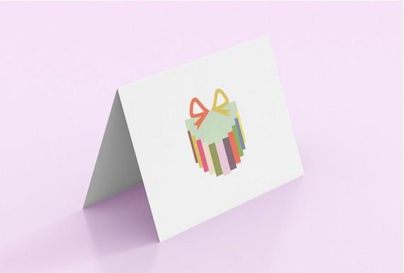 3D Greeting Card Gift Box model