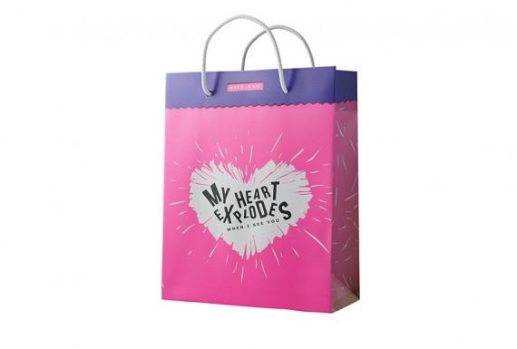 My Heart gift bag