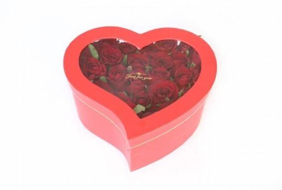 باکس گل قلبی ایستاده