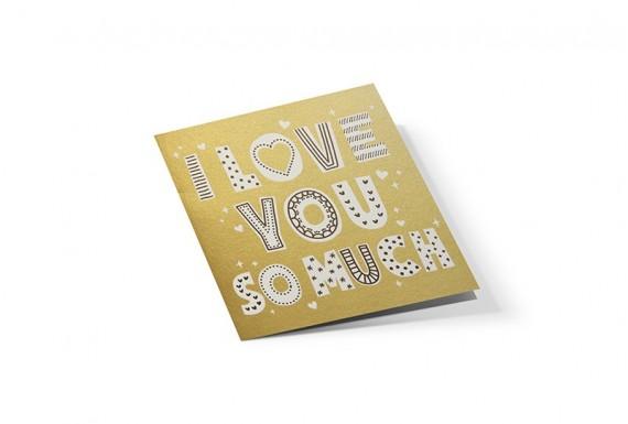 کارت تبریک I love you so much