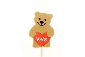 Love bear gift stick