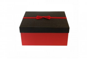 black red gift box