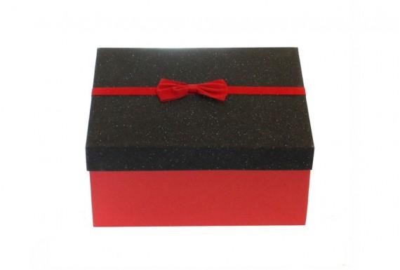 جعبه کادو مشکی قرمز