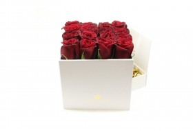 Rose and Chocolate flower box