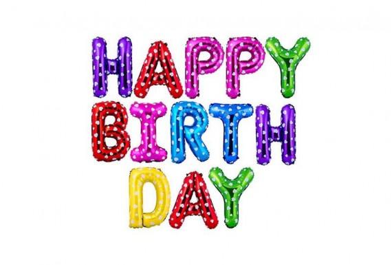 بادکنک فویلی Happy Birthday