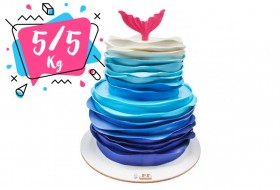 Wave of the sea cake