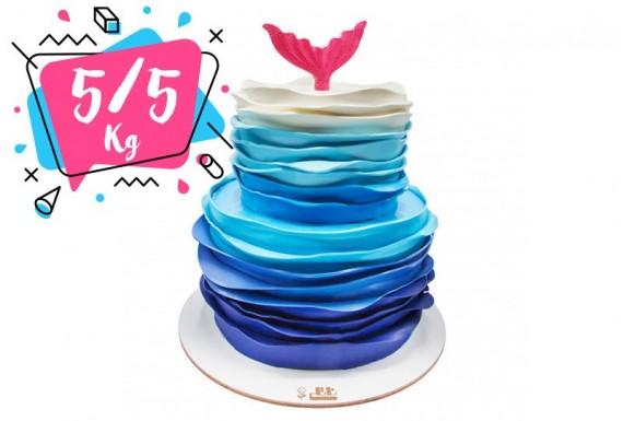 کیک موج دریا