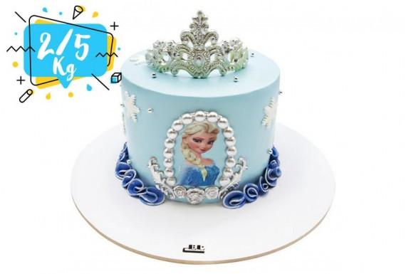 کیک تولد Frozen