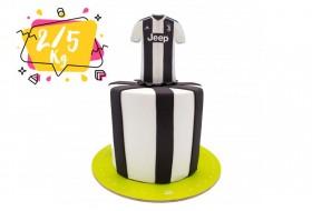 کیک تولد مدل تیم یوونتوس
