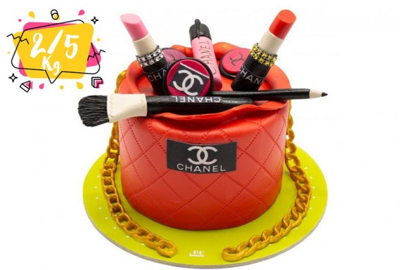 CHANEL cosmetic birthday cake