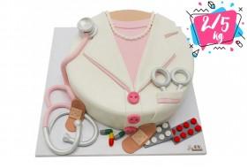 کیک تولد خانم دکتر