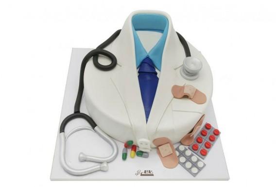 کیک تولد آقای دکتر