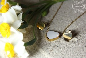 Stainless steel Heart shaped set No.4
