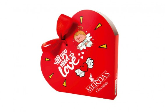 شکلات مرداس قلبی