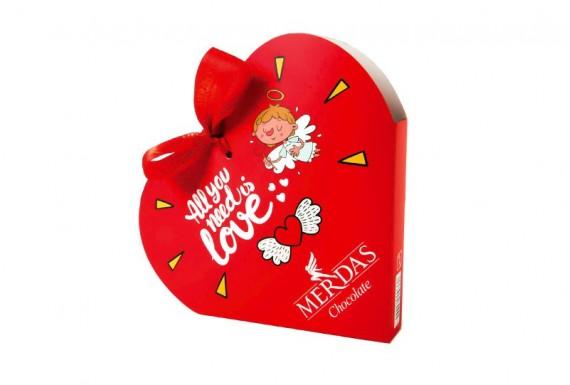 MERDAS chocolate heart model