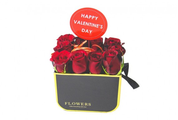Valentines Day Rose Box