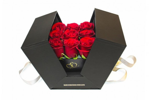 Surprise Rose Box